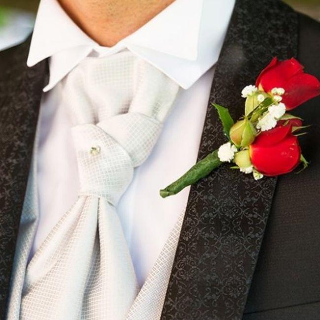 Boutonnière🌹: un must per lo sposo 8