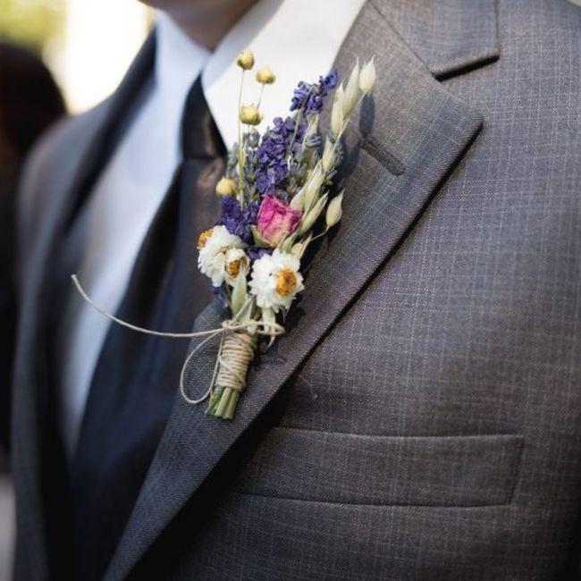 Boutonnière🌹: un must per lo sposo 9