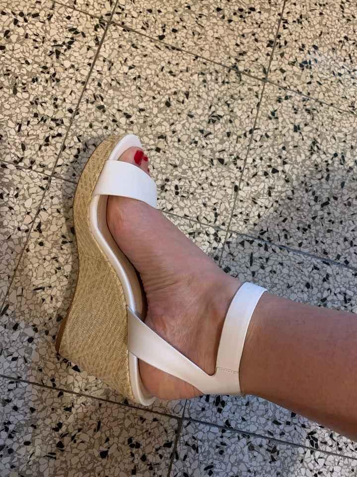 Cambio scarpe previsto? - 1
