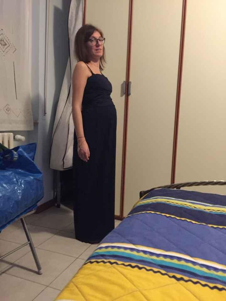 Aiuto....vestito testimone incinta - 1