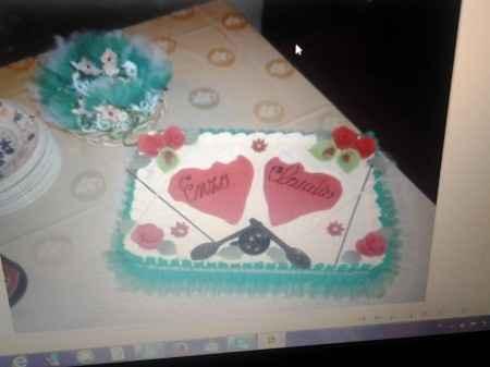 La torta della nostra promessa di matrimonio - 1