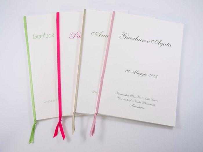 Eccezionale Rilegatura libretto messa fai da te - Fai da te - Forum Matrimonio.com IO62