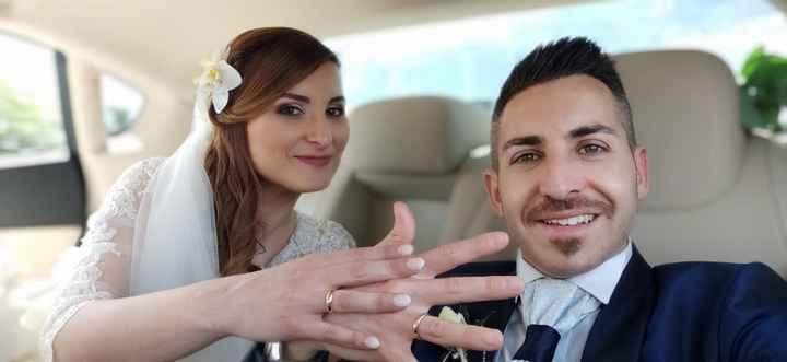 Finalmente marito e moglie 🥰 1