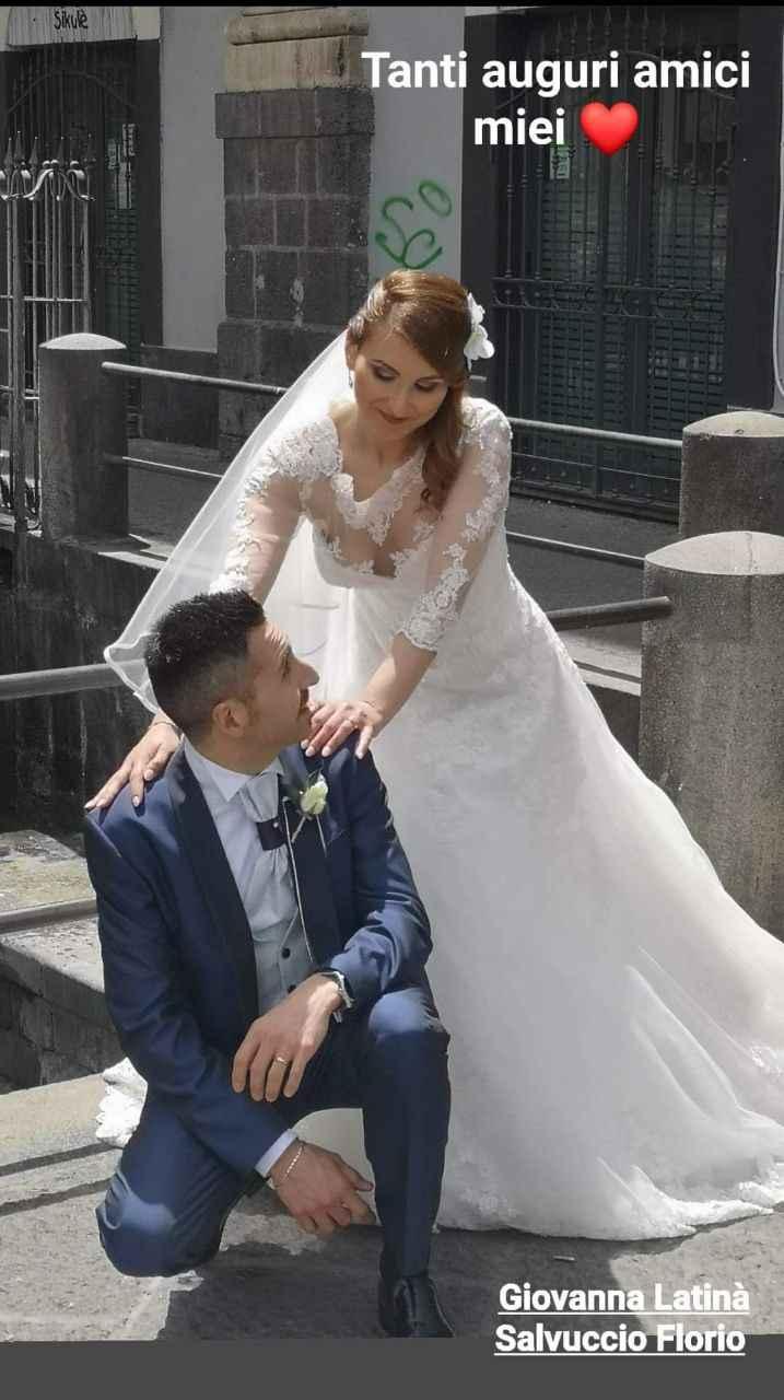 Finalmente marito e moglie 🥰 2