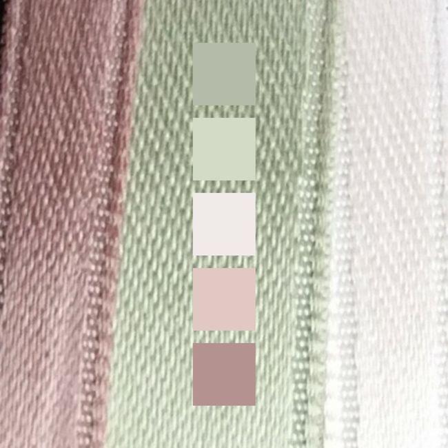 Verde salvia/eucalipto e rosa cipria 3