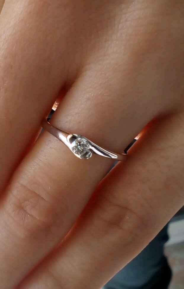 Oggi ho ricevuto il mio anello! - 1