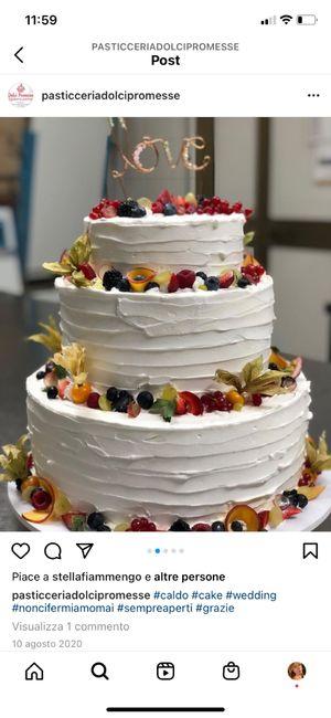 Idea per Torta nuziale, vi piace? 1