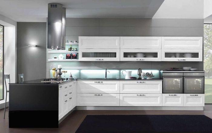 Cucina bianca 1 foto - Cucina tutta bianca ...