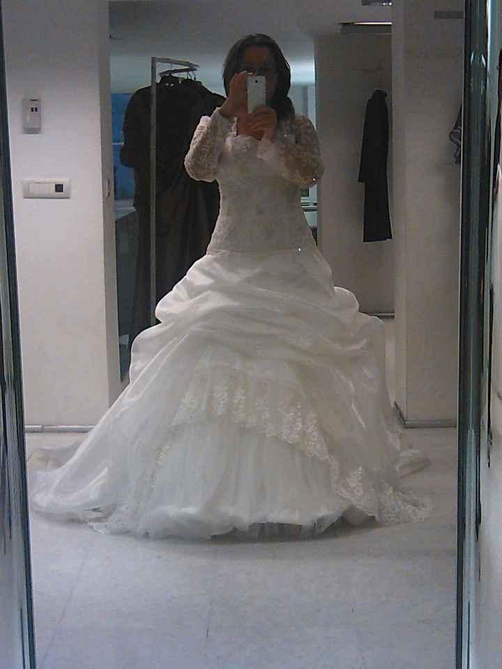 Il MIO abito da sposa DOPO!