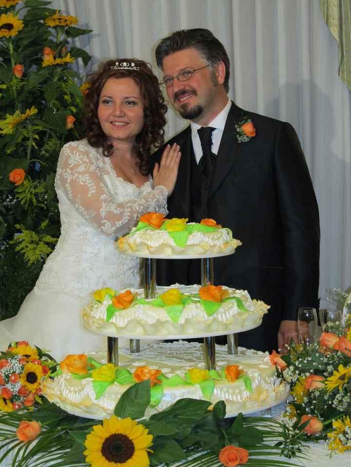 La nostra torta nuziale