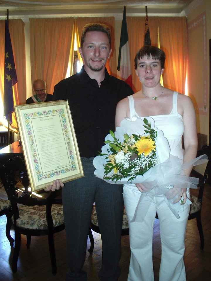 ...Matrimonio in Comune (01-09-2007)...