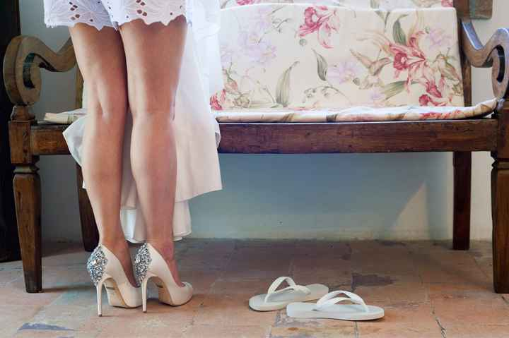 Aiuto vestaglia sposa - 2