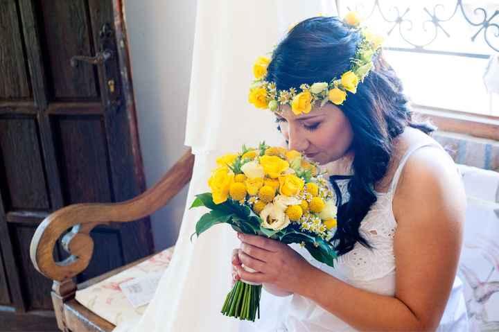 Bouquet con girasoli - 1