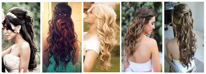 capelli sciolti mossi