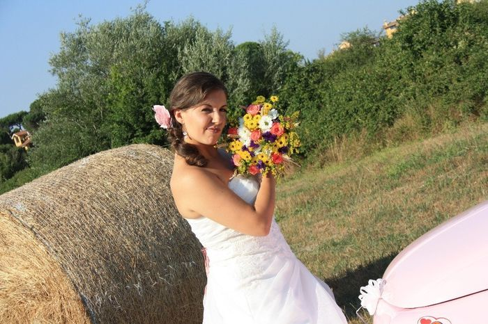 Minacciosa col bouquet :)