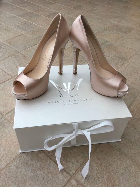 seleziona per il meglio personalizzate varietà di stili del 2019 Mascia mandolesi le mie scarpe principesche - Moda nozze ...