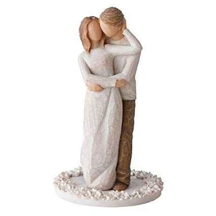 Cake topper Willow Tree