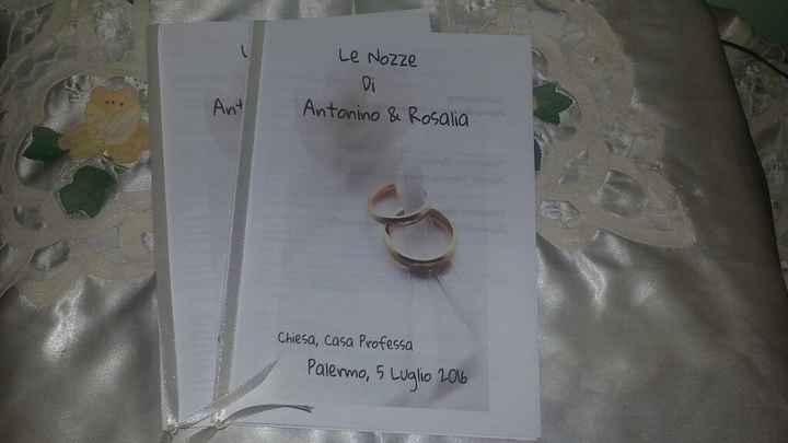 La mia bozza libretto messa - 1