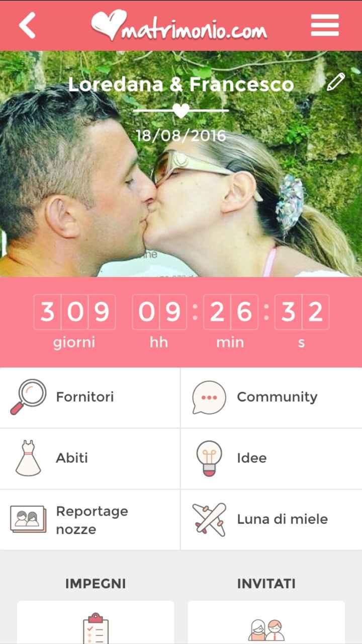 -309 giorni al nostro lieto evento?