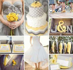 Matrimonio in giallo e grigio! 1