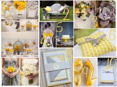 Matrimonio in giallo e grigio! 4