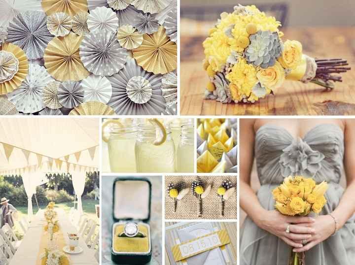 Matrimonio in giallo e grigio! - 2