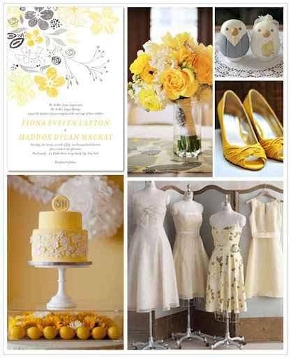 Matrimonio in giallo e grigio! - 3