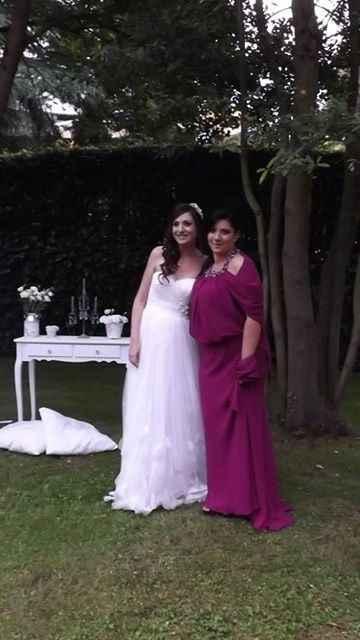 Io e mia sorella il giorno delle nozze