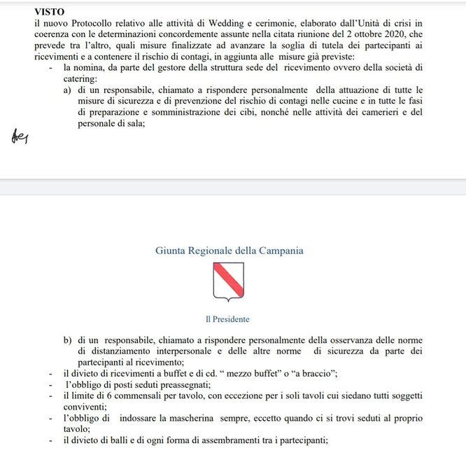 Ordinanza n.75 campania di deluca....restrizioni 1