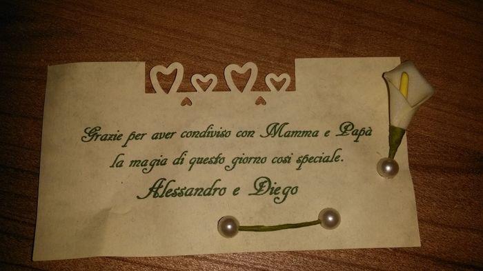 Super Frase di ringraziamento - Fai da te - Forum Matrimonio.com BP47