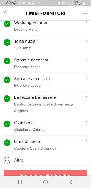 Condividi lo screenshot dei tuoi fornitori 8