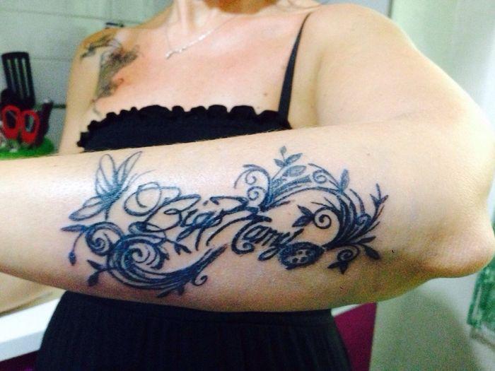 Tatuaggi salute bellezza e dieta forum for Tatuaggi dedicati ai figli frasi
