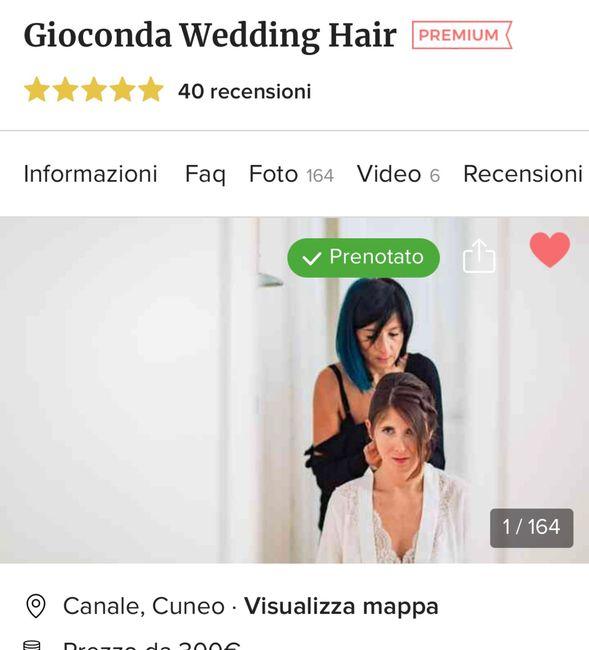 Trucco e Parrucco sposa Torino 1