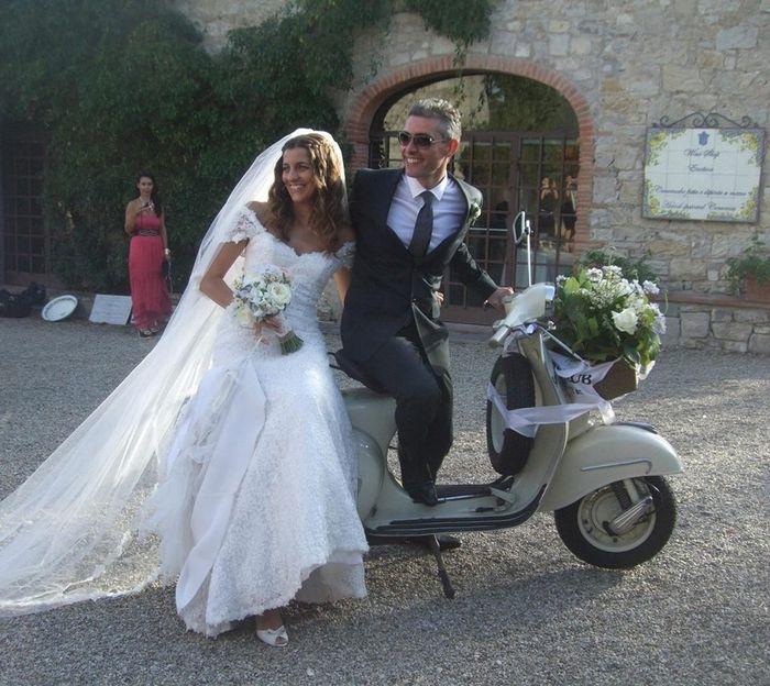 Matrimonio In Vespa : In vespa foto organizzazione matrimonio