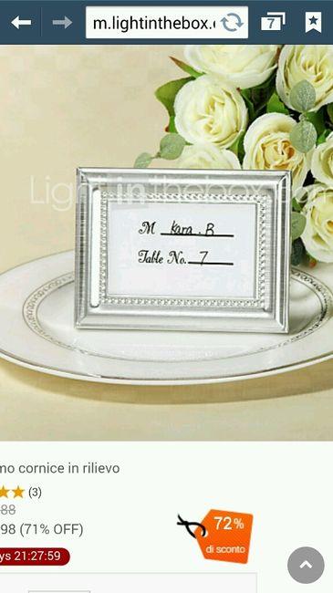Favoloso Idee segnatavolo? - Organizzazione matrimonio - Forum Matrimonio.com AK83