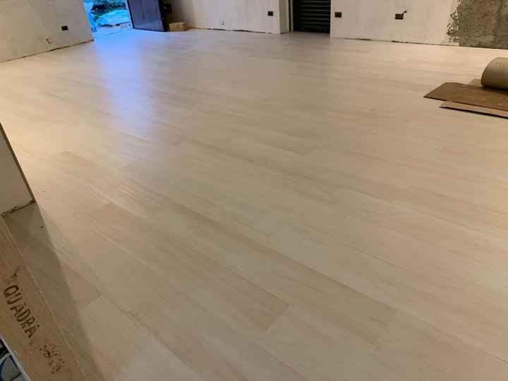 Help!! Pavimento gres porcellanato effetto legno ruvido - 1