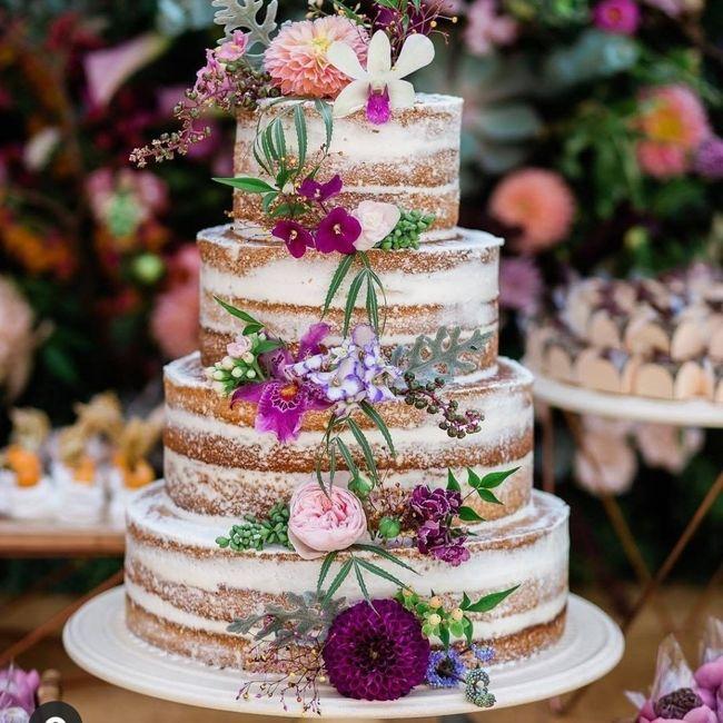 Come deve essere la tua torta nuziale?🍰 2
