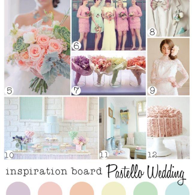Scegli la palette di colori delle tue nozze 2