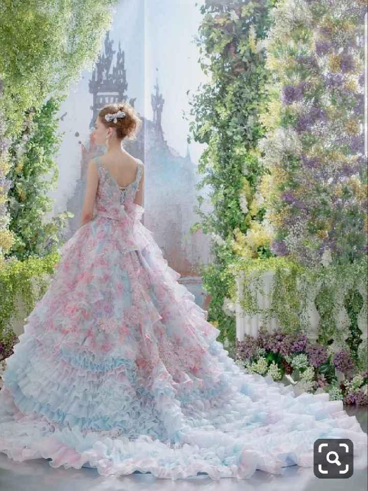 Abiti da sposa colorati - 7