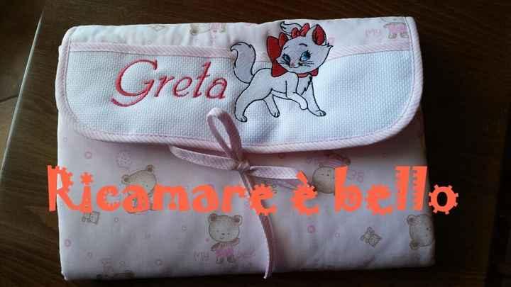 Fasciatoio portatile per la nostra piccola Greta