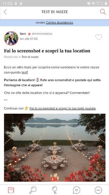 Fai lo screenshot e scopri la tua location 4