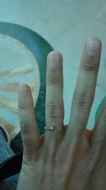 Anello di fidanzamento? Diamo il via alle foto più brillanti del 2018! =d 3