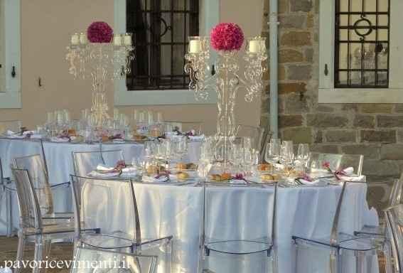 Come saranno i tavoli senza rivestimento