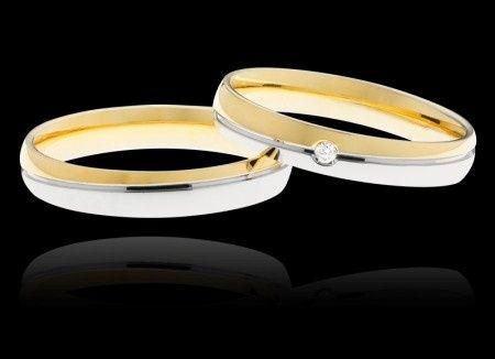 taglia 40 93bfa 3f81a Differenza fedi bicolore stroili oro e polello ...