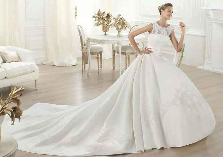 Vi va di dirci il nome del vostro abito da sposa? - 1