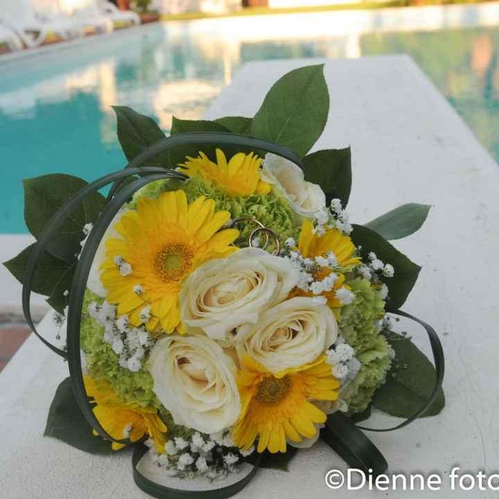 Bouquet sposa...vi piacerebbe con il giallo? - 1
