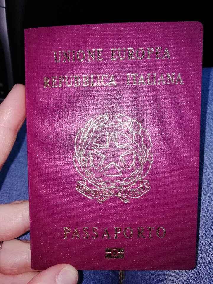 Passaporto?!?...  C'é!!!😎😎 - 1