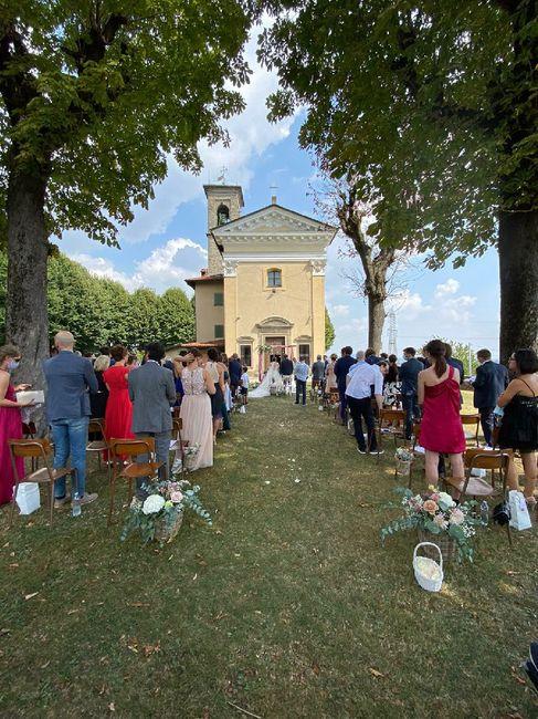 Decorazioni cerimonia simbolica in location - 1