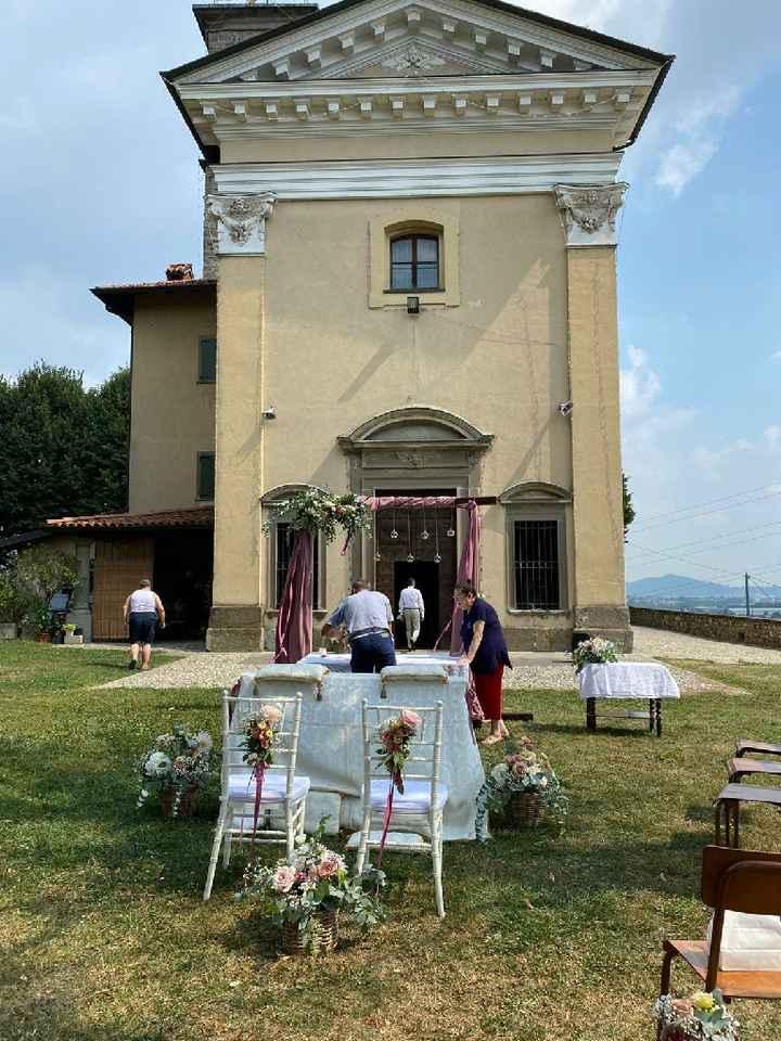 Decorazioni cerimonia simbolica in location - 3