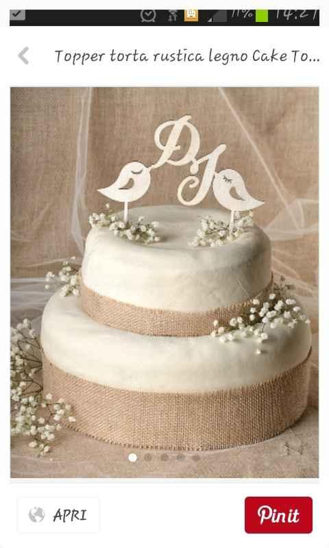 Cake topper - mi mostrate il vostro? - 1